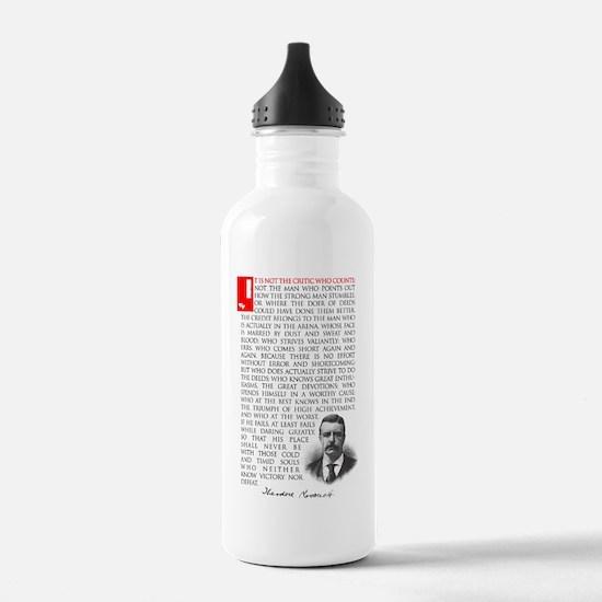 TEDDY ROOSEVELT Sports Water Bottle