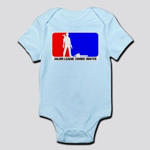 Major Leauge Zombie Hunter Infant Bodysuit
