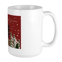 2010 Show Hunter Holiday Large Mug