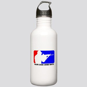 Major Leauge Zombie Hunter Stainless Water Bottle