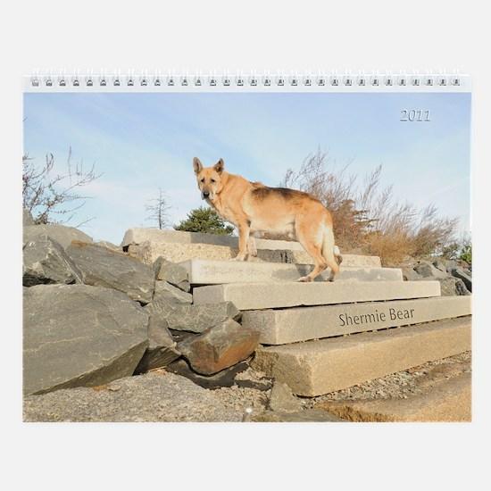 Shermie Bear Wall Calendar