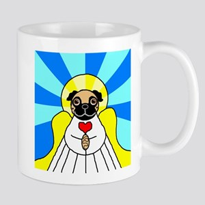 Pug Angel - Fawn Mug