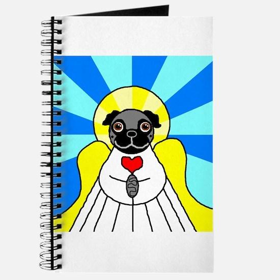 Pug Angel - Black Journal