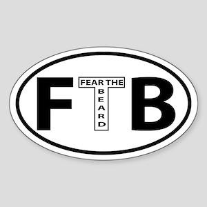 FTB Oval decal Sticker (Oval)