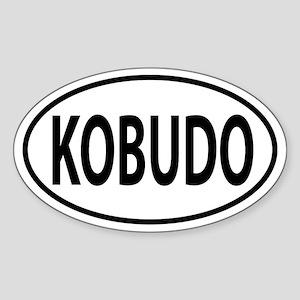 Kobudo Oval decal Sticker (Oval)