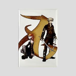 """""""Love"""" Rune - Rectangle Magnet"""