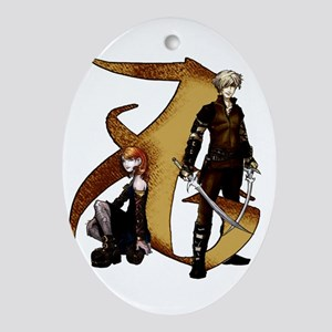 """Love"" Rune - Ornament (Oval)"