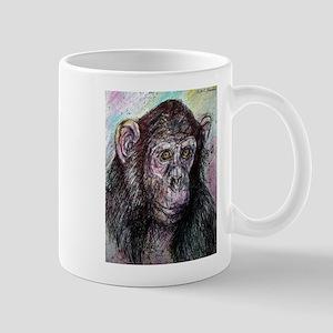 Chimp, striking, adorable, Mug