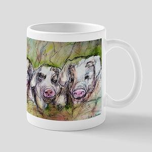 Three Little Pigs, Cute, Mug