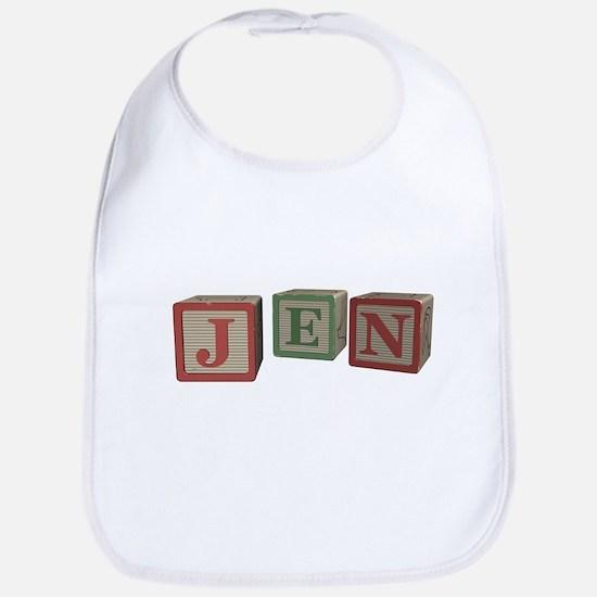 Jen Alphabet Block Bib