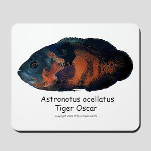 Tiger Oscar Mousepad