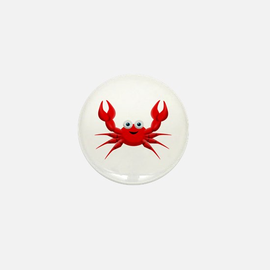 Crab Mini Button