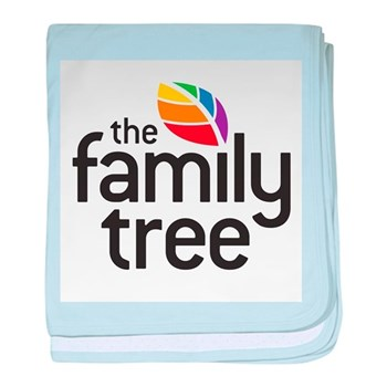 Family Tree Logo baby blanket