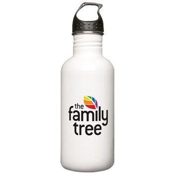 Family Tree Logo Stainless Water Bottle 1.0L