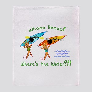 Where's the Water Throw Blanket
