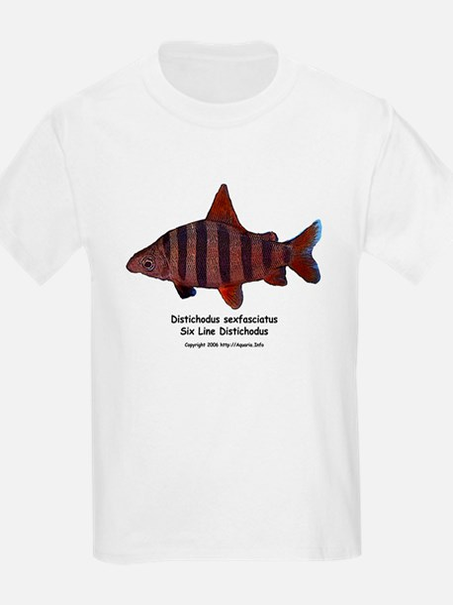 Distichodus sexfasciatus Kids T-Shirt
