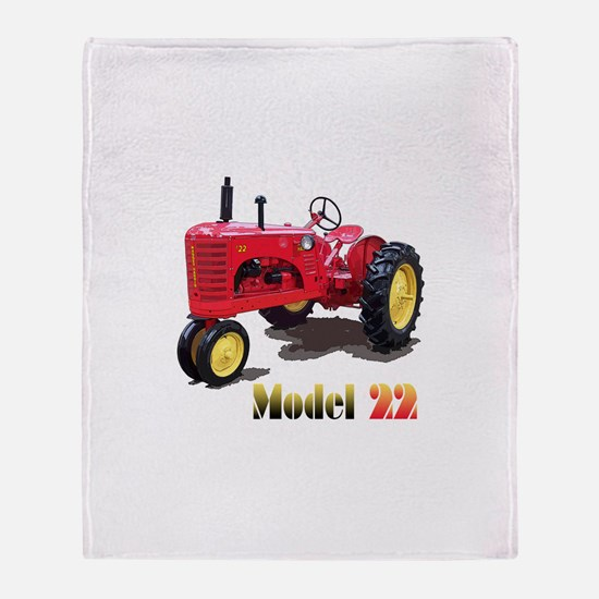 The Model 22 Throw Blanket