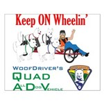 WoofDriver's Quad ADV Small Poster