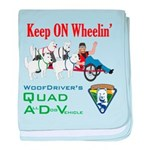WoofDriver's Quad ADV baby blanket