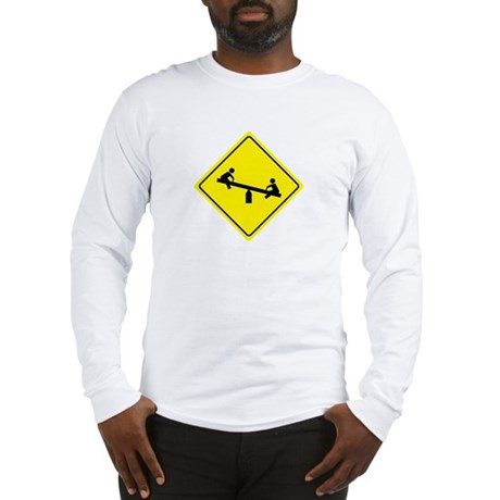 Playground Sign Long Sleeve T-Shirt