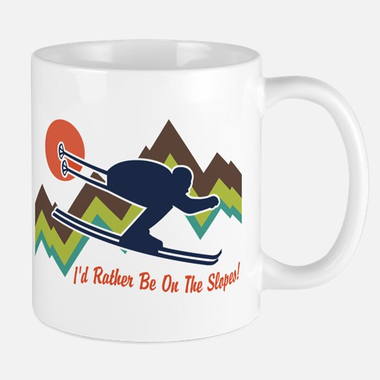 I'd Rather Be On The Slopes Mug