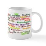 Shakespeare Plays Mug