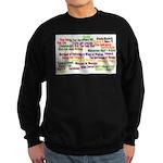 Shakespeare Plays Sweatshirt (dark)