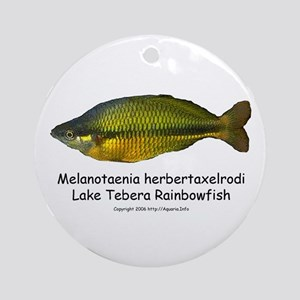 Lake Tebera Rainbowfish Ornament (Round)