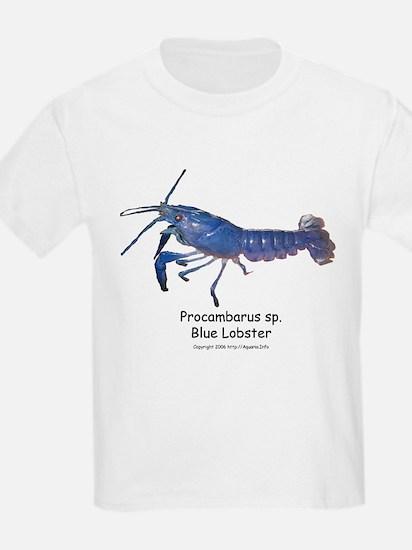 Blue Lobster Kids T-Shirt
