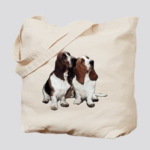 Basset Hounds Tote Bag