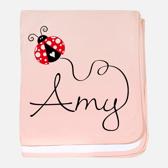 Ladybug Amy baby blanket