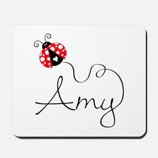 Ladybug Amy Mousepad
