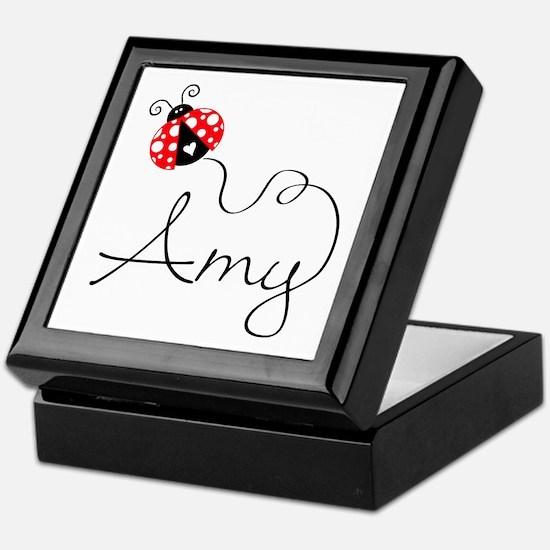 Ladybug Amy Keepsake Box