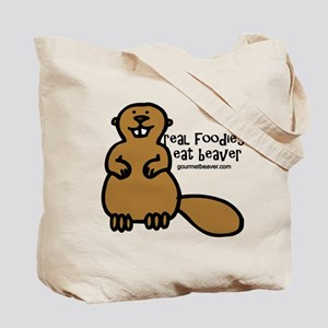 Real Foodies Eat Beaver by GourmetBeaver.com Tote