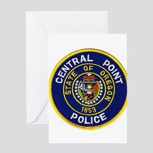 Central Point Police Greeting Card