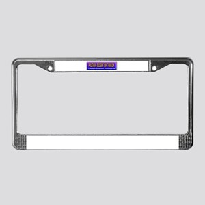 Political Dissent Isn't Racis License Plate Frame