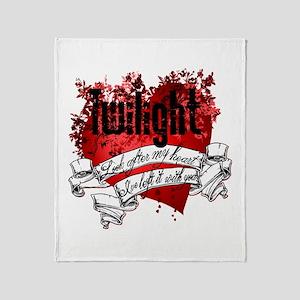 Twilight Tattoo Throw Blanket