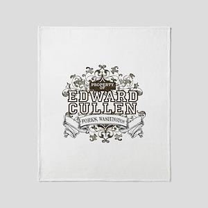 Property Of Edward Cullen Throw Blanket