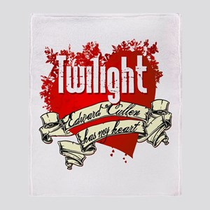 Edward Cullen Tattoo Throw Blanket