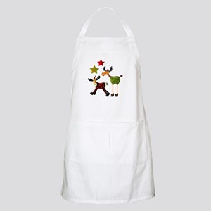 Winter Star Mooses Apron