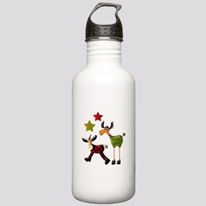 Winter Star Mooses Stainless Water Bottle 1.0L