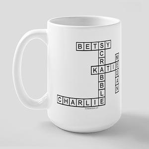 STEERS SCRABBLE-STYLE Large Mug