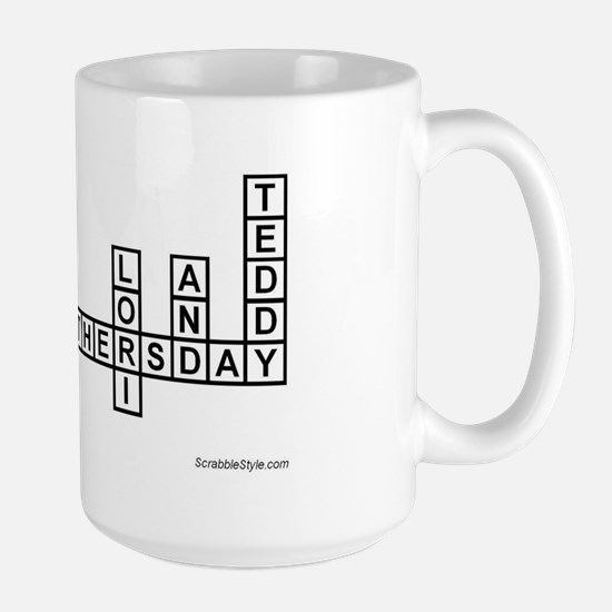 NILSON SCRABBLE-STYLE Large Mug