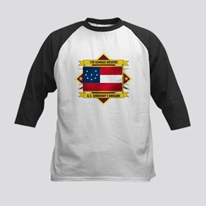 7th Georgia Infantry Kids Baseball Jersey
