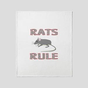 Rat Throw Blanket