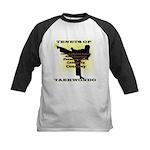 Traditional Taekwondo Tenets Gold Kids Baseball Je