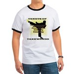 Traditional Taekwondo Tenets Gold Ringer T