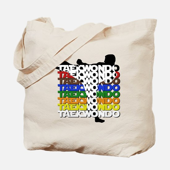 Taekwondo Colors Tote Bag