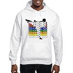 Taekwondo Colors Hooded Sweatshirt