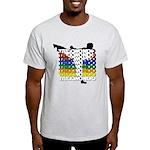 Taekwondo Colors Light T-Shirt